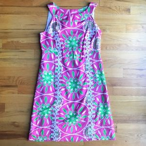 NWOT LILLY PULITZER Jacqueline Pink Print Dress 4